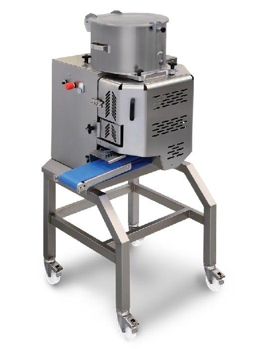 מכונת ייצור המבורגרים וקציצות עגולות משולבת